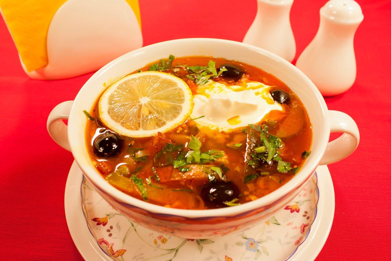 пошаговый рецепт солянки мясной с фото
