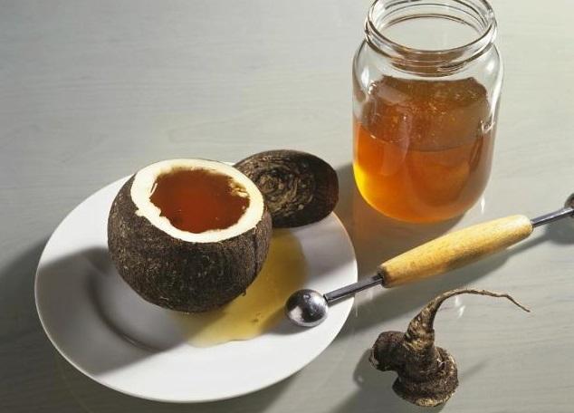 Мед с редькой как сделать
