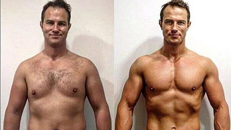 Фото и отзывы о Мотивация! Мужчина похудел за 15 недель