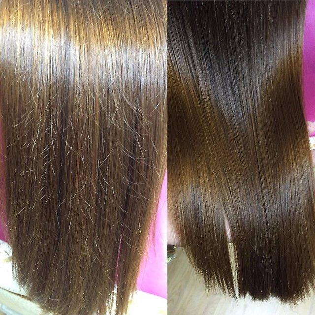 Полировка волос отзывы что это такое
