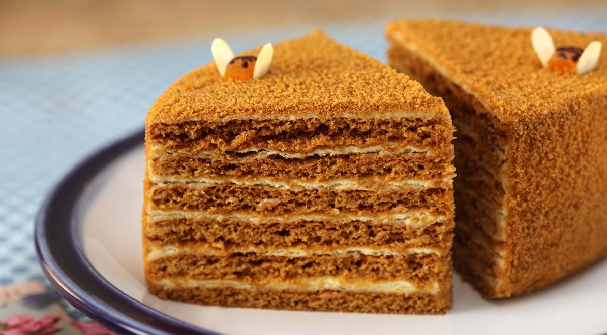 Как сделать медовый торт