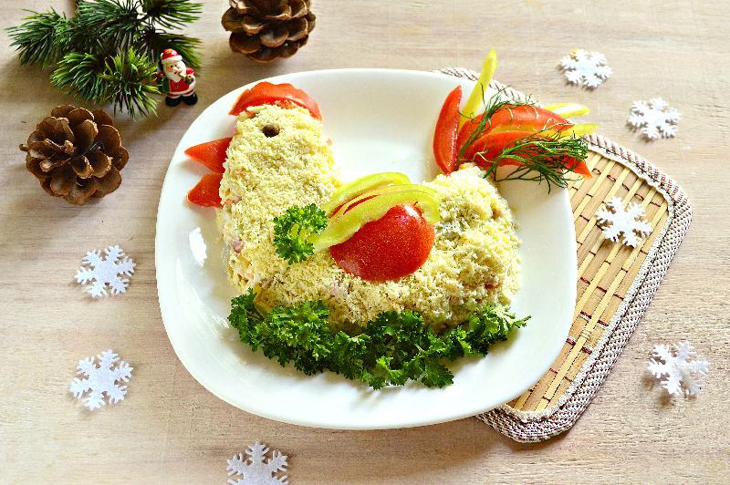 Новые салаты рецепты на новый год 2017