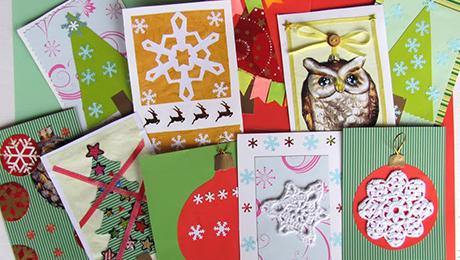 Фото и отзывы о Идеи новогодних открыток своими руками. Фото