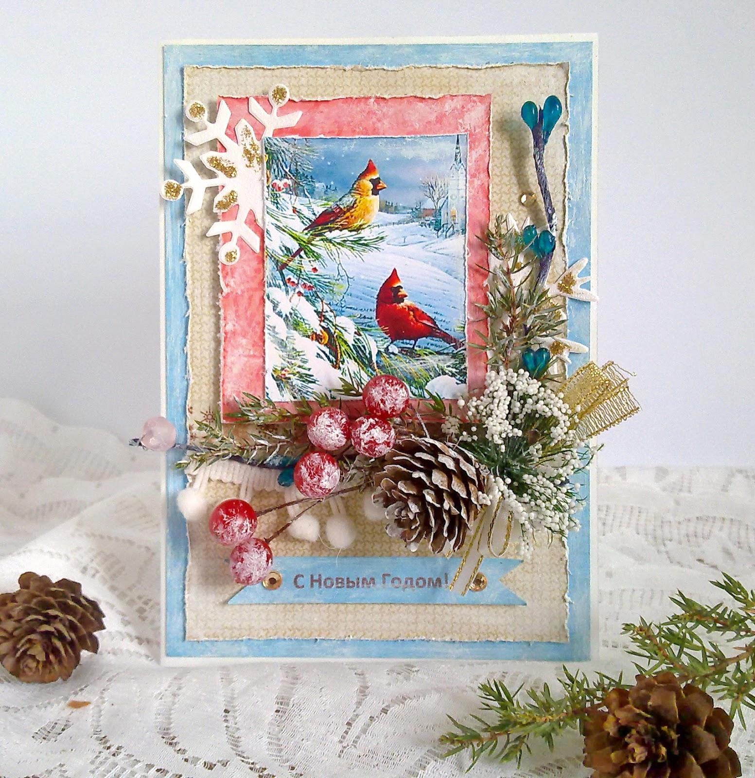 Картинка по теме: Идеи новогодних открыток своими руками. Фото