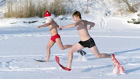 Фото и отзывы о Какая должна быть одежда для бега зимой?