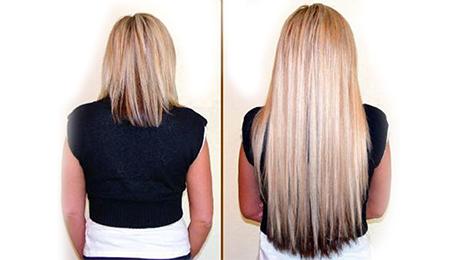Фото и отзывы о Наращенные волосы. Фото до и после
