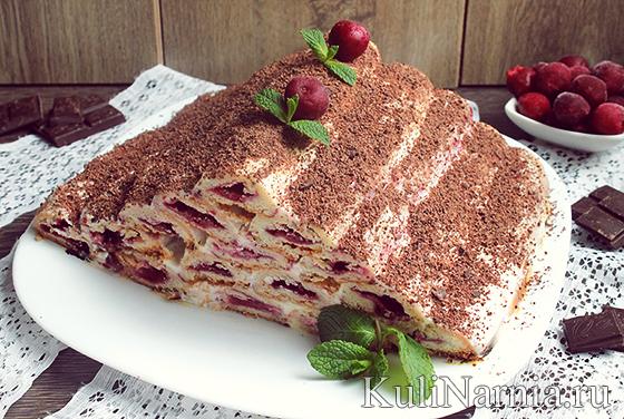 Пошагово торт наполеон с фото