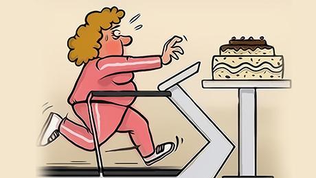 Фото и отзывы о Ученые: нельзя садиться на диету после Нового года сразу