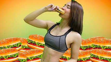 Фото и отзывы о Как сжечь калории после еды — фастфуда?