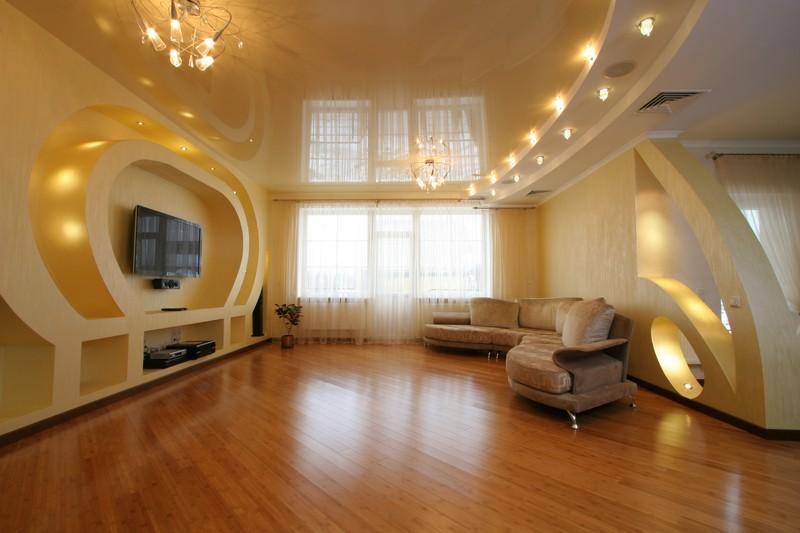Фото на тему: Какой потолок лучше сделать?