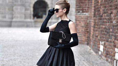 Фото и отзывы о Как и с чем носить маленькое черное платье?