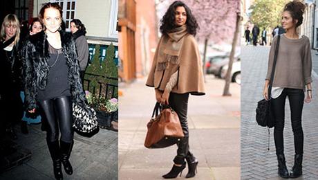 Фото и отзывы о Кожаные брюки или лосины: вульгарно или нет?
