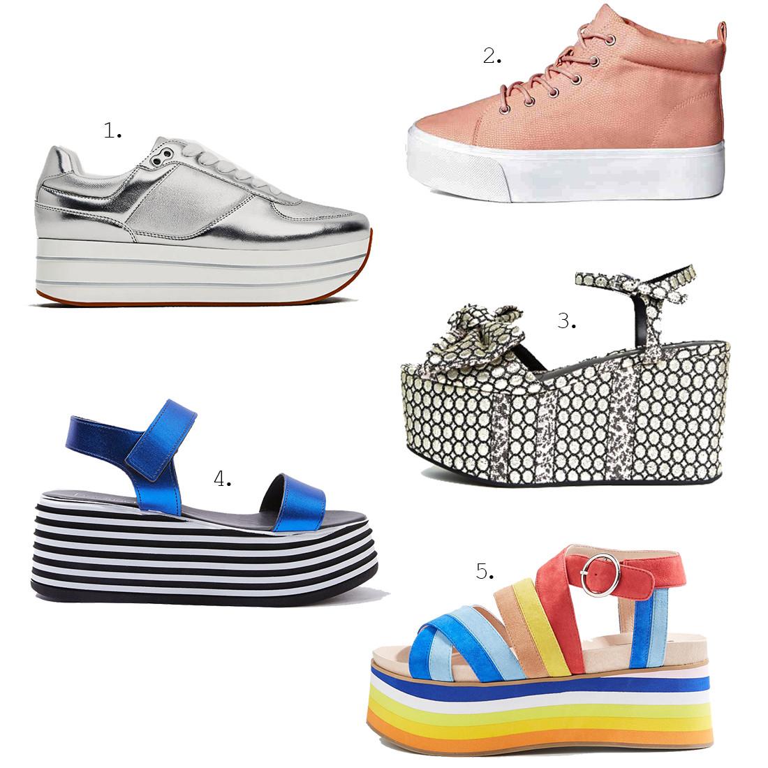 Обувь весна 2017 тенденции женские