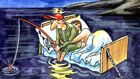 Фото и отзывы о Что делать, если муж на рыбалке часто?