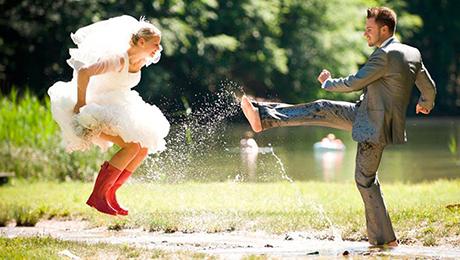 Фото и отзывы о Свадьба в дождь, что делать?
