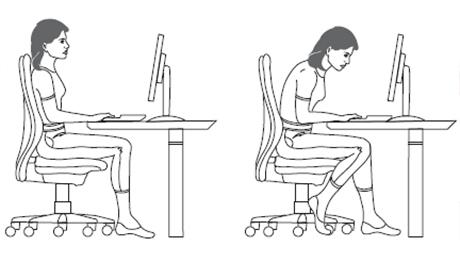 Фото и отзывы о Как сидеть прямо за столом?