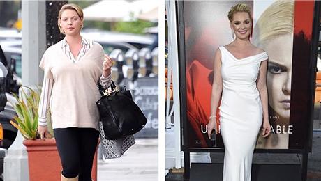 Фото и отзывы о Звезда анатомии страсти Кэтрин Хейгл похудела на 25 килограмм