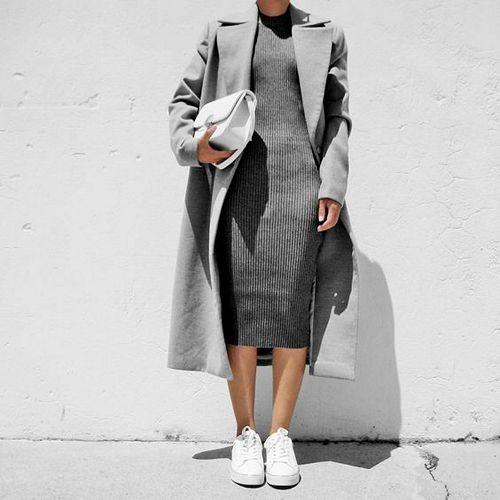 Картинка по теме: Какие платья можно носить с кедами?