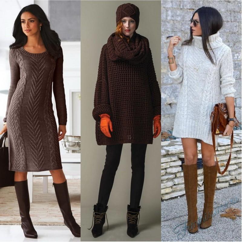 Вязание пуловеры платья