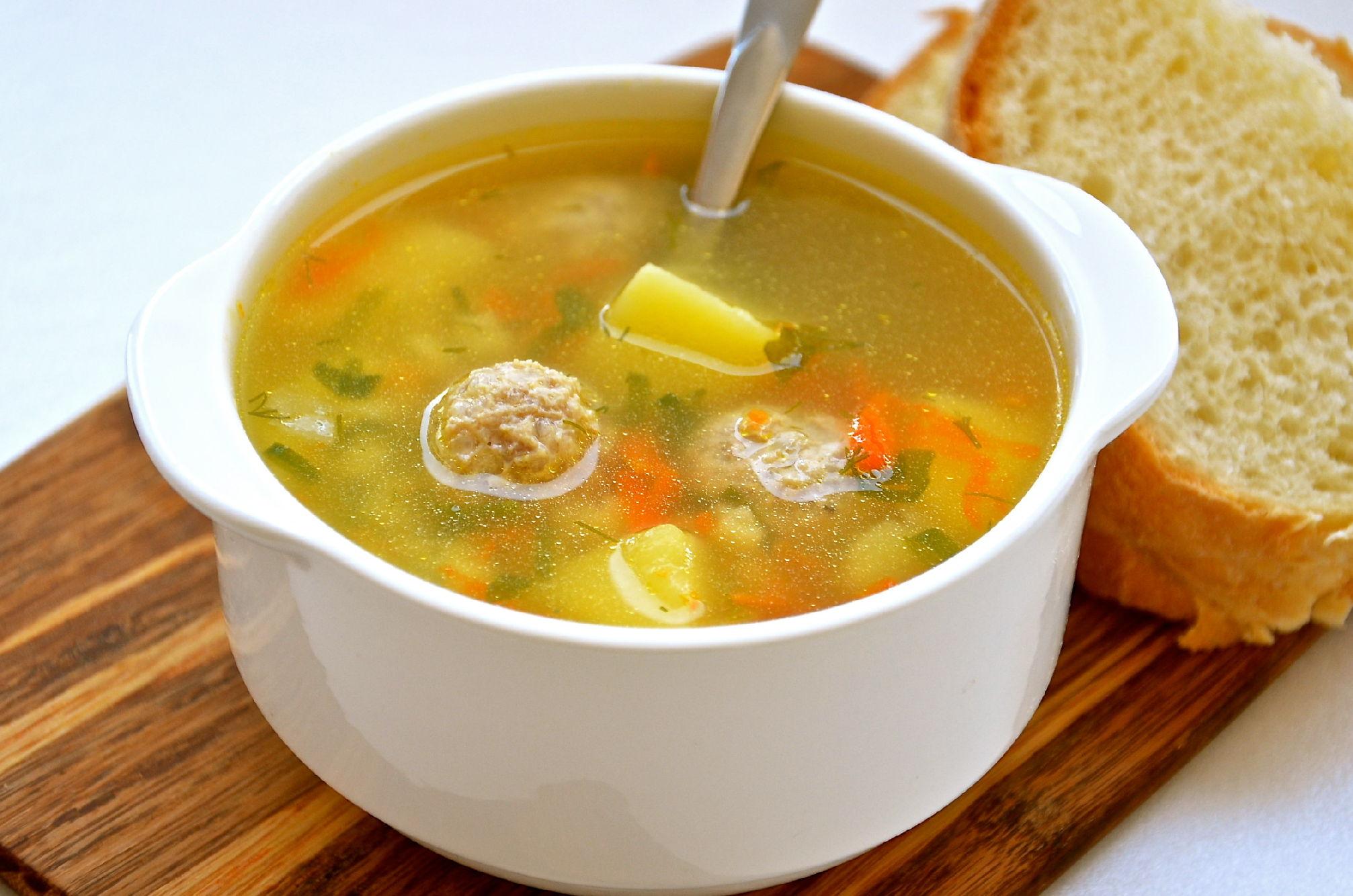 суп с фрикадельками рецепт пошагово с фото с гречкой