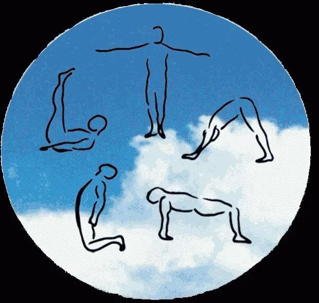 Картинка по теме: 5 тибетских упражнений, чтобы проработать мышцы за 10 минут
