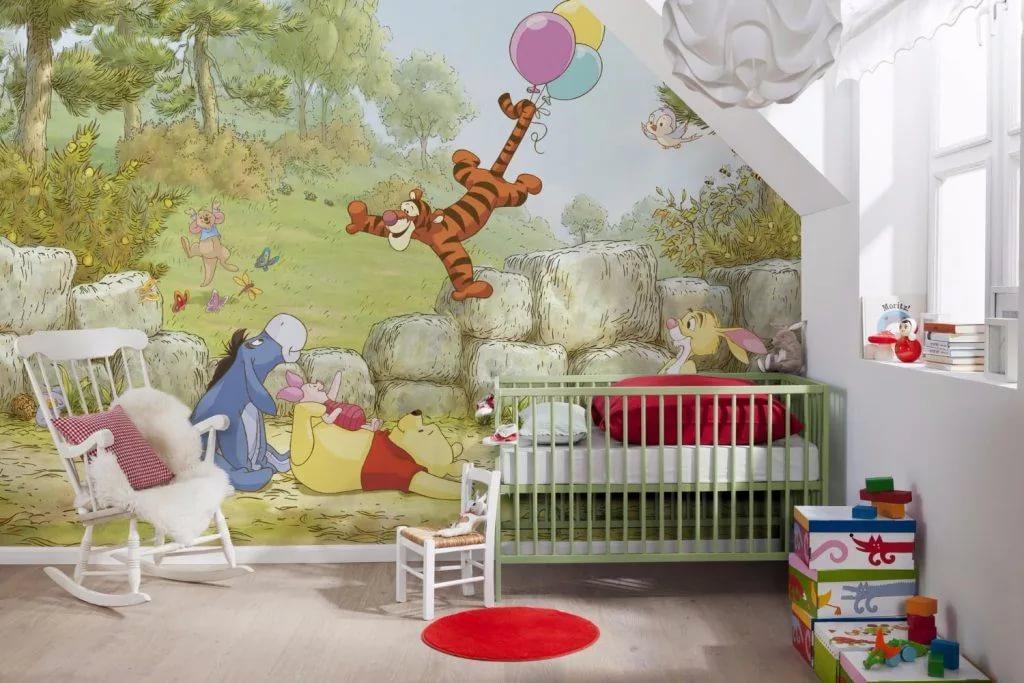Картинка по теме: Какие купить обои в детскую комнату?