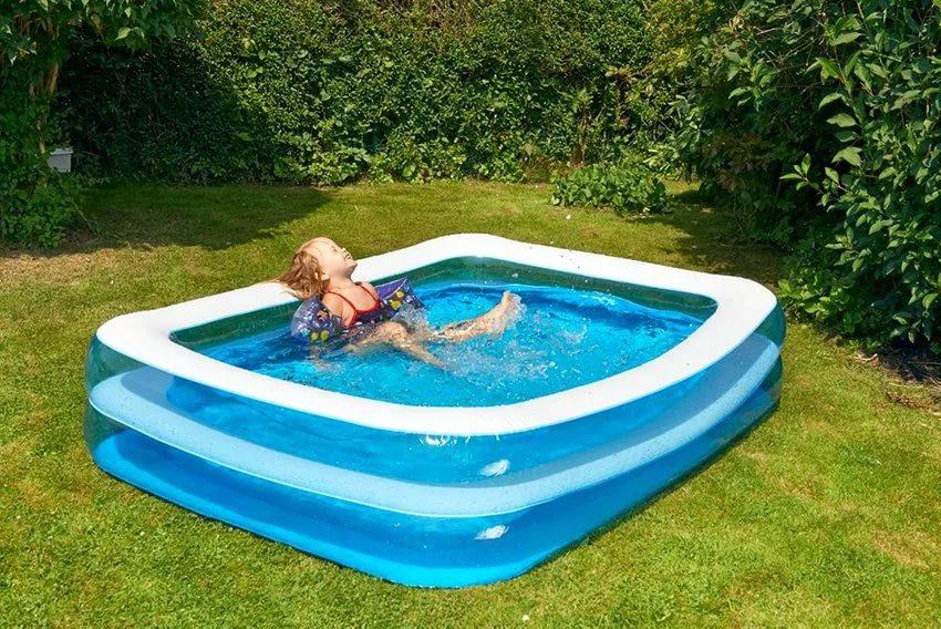 Картинка по теме: Какой и как выбрать бассейн для дачи? Надувной или каркасный, какой надежнее?